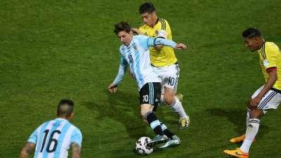 战哥伦比亚阿根廷有信心!梅西3大无解瞬间完爆J罗