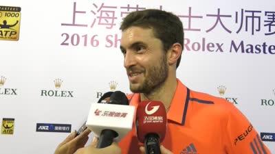 【中字】西蒙:上海让自己感觉很好 对自己表现满意