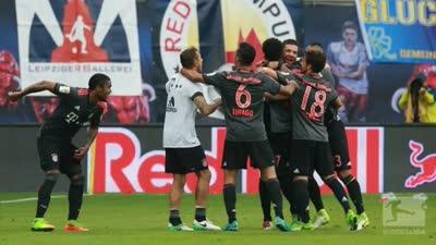德甲-莱万双响罗本95分钟绝杀 进球大战拜仁5-4绝杀莱比锡