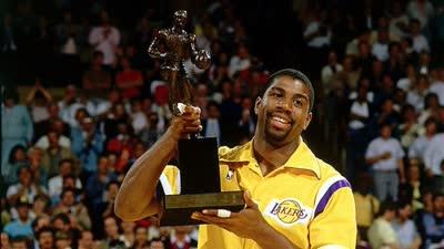 历史上的5月20日:魔术师约翰逊首夺常规赛MVP