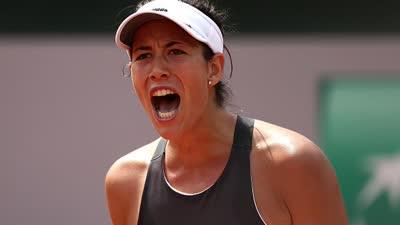 法网-穆古拉扎两盘获胜 卫冕冠军强势晋级