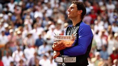 法网-纳达尔完胜瓦林卡  豪取生涯大满贯第15冠
