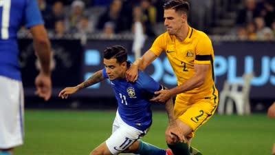 热身赛-暴力鸟神助攻神锋双响 巴西4-0澳大利亚