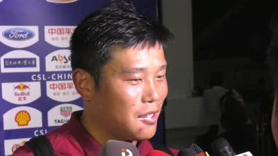蔡慧康:对抗激烈因两队都想赢 奥斯卡处理球有情绪