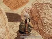 绝地求生沙漠图这个隐藏洞 双98K+4倍镜