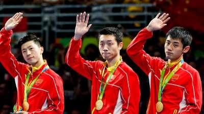 里约奥运中国奖牌分布:跳水举重狂捞金 乒乓包揽