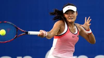 王雅繁三盘战胜小花杀手 首次晋级中网女单正赛