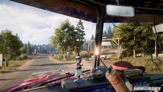 《孤岛惊魂5》开放世界演示 打飞机,开擎天柱