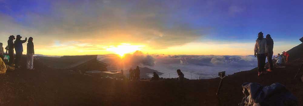 乐视户外日本特稿:漫步富士云端 向着太阳行进