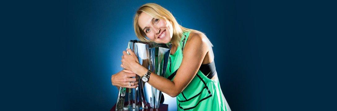 巴黎银行赛-维斯尼娜逆转库兹娃 首夺皇冠赛桂冠