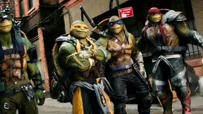 《忍者神龟2:破影而出 》内地定档7月2日炫酷依旧  曝光名为Carried Away预告