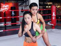 《Fight Candy》第38期:清纯美女演绎低位背摔