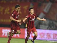 中超-武磊进球埃神破球荒 上港2-0华夏止颓势
