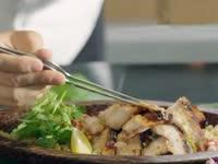 藜麦猪颈肉柚子沙律