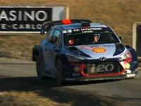 WRC蒙特卡洛SS11-13:诺伊维尔爆胎奥吉尔反超
