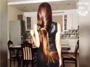 来看没加特效的柔顺长发 女主最后现身颜值超高