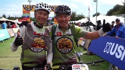 为的就是好玩! 香港大叔挑战南非山地车马拉松