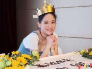 陈乔恩生日晒美照好身材抢镜 38岁美貌依旧似少女