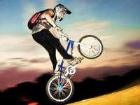 前方高能!小哥自行车比赛放大招比摩托还快