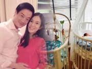 42岁杨采妮诞下双胞胎 宝宝萌照曝光