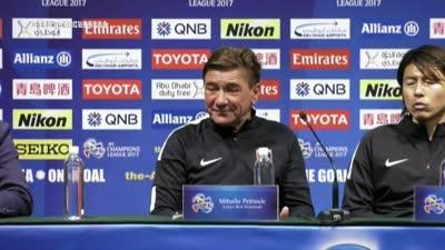 直击浦和赛后发布会 佩特洛维奇大赞上港执行力强