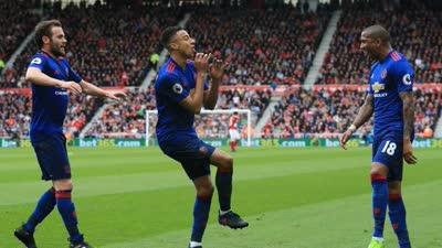 英超-费莱尼头槌林加德一条龙 曼联3-1客胜升至第五