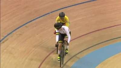 女子争先赛 澳大利亚选手成功晋级决赛