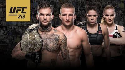 双重冠军战领衔UFC213 两场经典对决不容错过