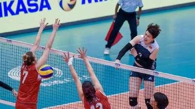 朱婷11分中国女排3-1土耳其 大奖赛澳门站迎首胜