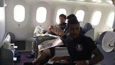 网曝暴力鸟登机照片 巴西中场离队加盟巴萨在即