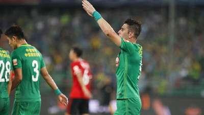 战报-索里亚诺2球张稀哲传射 国安主场4-0开新