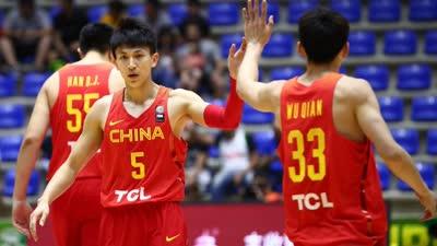 亚洲杯-刘晓宇13分5人上双 男篮险胜黎巴嫩获第五