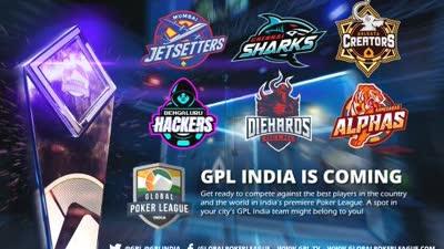 GPL全球扑克联赛继中国站后登陆印度,势将席卷亚洲