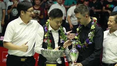 丁俊晖排名赛13冠一览 距完美还差世锦赛冠军