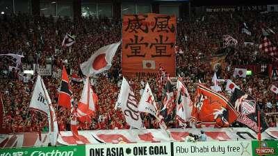 万众瞩目!超4万人现场看亚冠半决赛浦和战上港