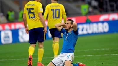 附加赛-狂轰27脚无功 意大利0-1瑞典无缘世界杯