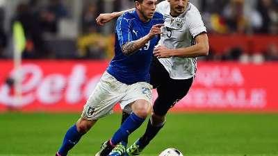 意大利VS德国前瞻:德意新星大乱斗 老帅谋复仇
