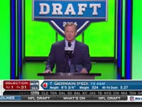 NFL选秀大会第31顺位 杰梅因-伊菲迪 (海鹰)