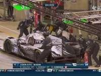 勒芒24小时耐力赛 12号赛车夜间小眠