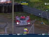 勒芒24小时耐力赛:44号马诺去缓冲区玩了
