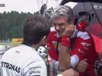 F1奥地利站FP2:两大车队领队进行交流