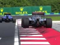F1匈牙利站FP1:汉密尔顿四轮驶出白线慢放