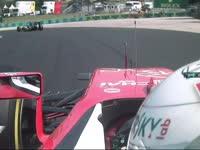 蓝旗啊!F1匈牙利站正赛:维特尔抱怨被挡