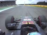 F1德国站FP2:里卡多弯中冲出赛道