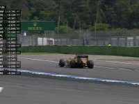 F1德国站FP3:佩雷兹割草赛车受损