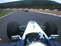 F1经典车载:2001年比利时站蒙托亚第一圈疯狂超车