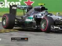 F1意大利站FP1:罗斯伯格冲出赛道切上缓冲区