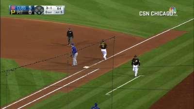 拜耶兹满贯全垒打 小熊赛季百胜达成