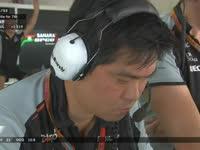 不公平!F1日本站正赛 佩雷兹抱怨车队进站策略