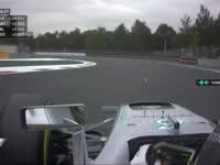 F1墨西哥站FP1:汉密尔顿方向盘故障看不到档位
